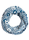 love is all around me loop, norwegian snowflake, Accessoires, White