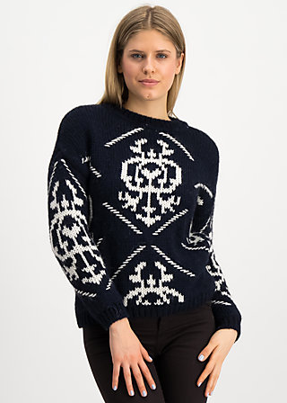 molly wolly pully, kings crown, Pullover & leichte Jacken, Blau