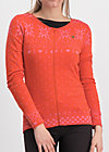sleek and chic zip, norwegian polar lights, Pullover & leichte Jacken, Orange