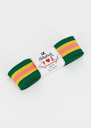 stripe ribbon, royal stripe, Accessoires, Green