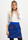 team queen skirt, wild thing, Skirts, Blue