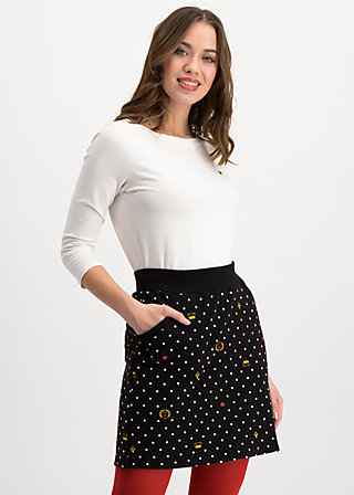 team queen skirt, kingly souvenirs, Skirts, Black