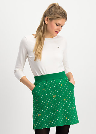 team queen skirt, queenly souvenirs, Skirts, Green
