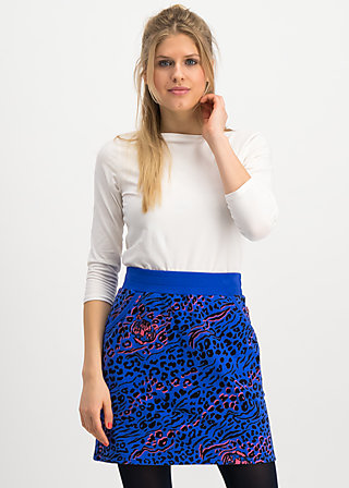 team queen skirt, wild thing, Röcke, Blau