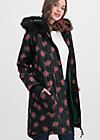 winter wonder woods parka, queens roses, Jackets & Coats, Black