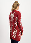 wolly wonderful cardycoat, queens crown, Jumpers & lightweight Jackets, Red