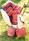 lucias lovely carryall, paprika, Reisetaschen, Rot