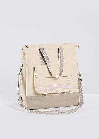 lucias lovely carryall, biscotti, Accessoires, Beige