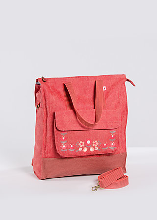 lucias lovely carryall, paprika, Travel Bags, Rot