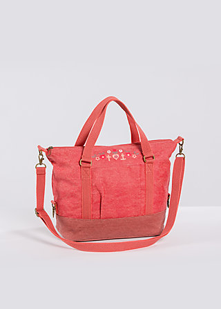 polarlight handbag, paprika, Handbags, Rot