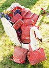 punschrullar, paprika, Handtaschen, Rot