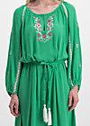 bohemian beauty robe, smaragd crepe, Kleider, Grün
