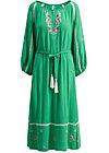 bohemian beauty robe, smaragd crepe, Dresses, Green