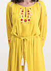bohemian beauty robe, sunflower crepe, Dresses, Yellow