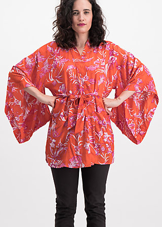 cio cio san kimono, tangerine tropical, Blusen & Tuniken, Orange
