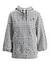 harajuku hoody, seagull stripe, Pullover & leichte Jacken, Weiß