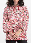 harajuku hoody, twister stripe, Jumpers & lightweight Jackets, Red