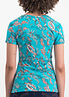 hooray and up tee, under the sea, Shirts, Blau