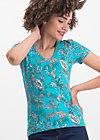 hooray and up tee, under the sea, Shirts, Blue