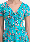 hot knot summer robe, under the sea, Kleider, Blau