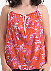lovely lazy noon top, tangerine tropical, Shirts, Orange