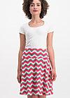 luma ahoi skirt, hippie zig zag, Skirts, Pink
