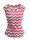 miss charming top, hippie zig zag, Shirts, Rosa