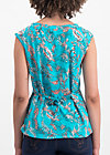 miss charming top, under the sea, Shirts, Blau