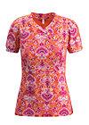 shanghai romance tee, loona luna, Shirts, Orange