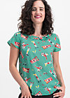 slip sloup blouse, bathing beauty, Blusen & Tuniken, Türkis