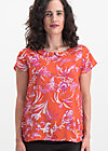 slip sloup blouse, tangerine tropical, Blusen & Tuniken, Orange