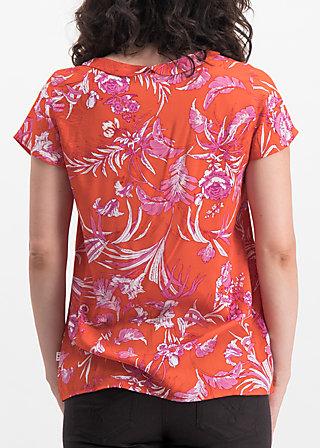 slip sloup blouse, tangerine tropical, Blusen & Tuniken, Orange