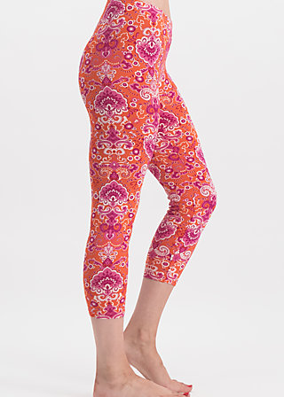 Cropped Leggings snorkel the bay, loona luna, Leggings, Orange