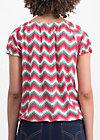 sommerhaus veranda shirt, hippie zig zag, Shirts, Pink
