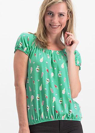 sommerhaus veranda shirt, ice ice baby, Shirts, Türkis