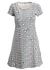 squeeze me tease me dress , seagull stripe, Dresses, White