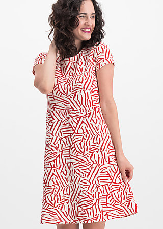 squeeze me tease me dress , twister stripe, Dresses, Red