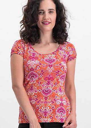 strandhaus romance tee, loona luna, Shirts, Orange