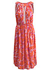 summer goddess robe, tangerine tropical, Kleider, Orange