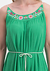 summer in the city dress, smaragd crepe, Dresses, Green