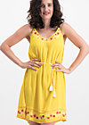 summer in the city dress, sunflower crepe, Dresses, Yellow