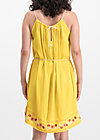 summer in the city dress, sunflower crepe, Kleider, Gelb