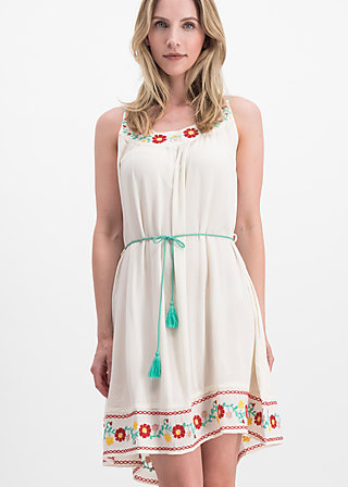 summer in the city dress, icecream crepe, Dresses, White