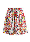 summerbreeze daydream skirt, happy zig zag, Skirts, Red