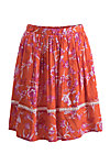 summerbreeze daydream skirt, tangerine tropical, Röcke, Orange