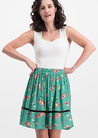 summerbreeze daydream skirt, bathing beauty, Skirts, Turquoise