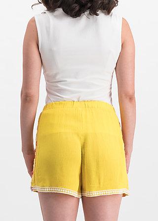 superwelle legs, sunflower crepe, Hosen, Gelb