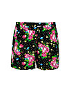 holiday romance shorts, garden of joy, Hosen, Schwarz