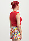 holiday romance shorts, happy zig zag, Hosen, Rot