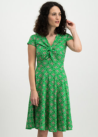 hot knot summer robe, joyful flower, Kleider, Grün